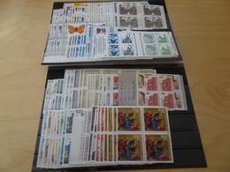 Bund Jahrgang 1991 Viererblock Postfrisch Komplett (11891) - Ungebraucht
