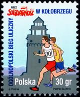 Poland 2019 Fi 4994 Mi 5144 National Street Run NSZZ SOLIDARNOŚĆ In Kołobrzeg - 1944-.... República