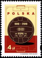 Poland 2019 Fi 4992 Mi 5142 100 Years Of The Polish Football Association - 1944-.... República