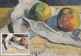 Carte Maximum - Nature Morte Aux Pommes-Paul Gauguin - Maximumkarten