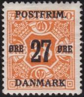 Danmark  .      Yvert   102   .      *     .        Mint-hinged   .    /   .   Ongebruikt - Gebruikt