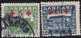 Danmark  .      Yvert   130/131       .       O     .         Cancelled   .    /   .   Gebruikt - Gebruikt