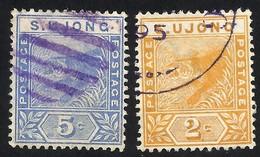 MALAYSIA--S.UJONG-- 1893 / 1894 - Gran Bretaña (antiguas Colonias Y Protectorados)