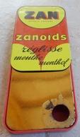 Ancienne Boite ZAN Zanoids Réglisse Menthe Menthol  -  Uzès Marseille - Boîtes