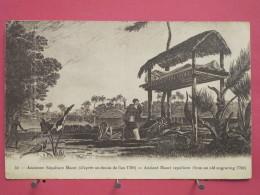 Océanie - Nouvelle Zélande - Ancienne Sépulture Maori D'après Dessin De 1790 - Bon état - Scans Recto-verso - Nouvelle-Zélande