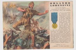 2° W W, Orlando Lorenzini , Medaglia D'oro N. 22, Cheren A.O.I. - 1941  - F.G.- - Weltkrieg 1939-45