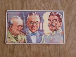 TREFIN L' Abeille De Bie Chromo N° 2  Le Débarquement En Europe 2 ème Guerre Mondiale Trading Card Vignette Chromos - Confiserie & Biscuits