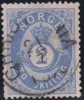 Norway    .      Yvert    17       .       O     .         Cancelled   .    /   .   Gebruikt - Noorwegen