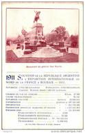 SOUVENIR ARGENTINE / A L'EXPOSITION INTERNATIONALE DE ROUBAIX 1911 / CPA    /   LOT 1021 - Roubaix