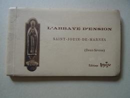 79 - Saint Jouin De Marnes : L' Abbaye D' Ension - Carnet De 10 Cartes Postales - Saint Jouin De Marnes