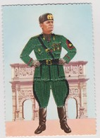 Mussolini , Duce Del Fascismo, Ricamata  - F.G.- - Uomini Politici E Militari