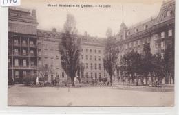 Grand Séminaire De Québec, - Le Jardin, Québec, (F170) - Québec - La Cité