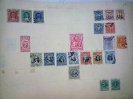 COLLECTION EQUATEUR - GUATEMALA - HAITI - HAWAI - MEXIQUE Feuille Album Maury Ancien - A Voir - 6 Scans - Sammlungen (im Alben)