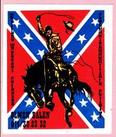 Sticker - Wild West Club - Centennial City - Olmen Balen - Stickers
