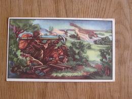 TREFIN L' Abeille De Bie Chromo N° 40  Le Débarquement En Europe 2 ème Guerre Mondiale Trading Card Vignette Chromos - Confiserie & Biscuits