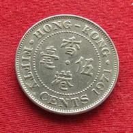 Hong Kong 50 Cents 1971 KN KM# 34 *V2  Hongkong - Hong Kong