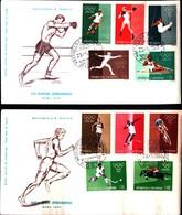 13310a) SAN MARINO-F.D.C.-Olimpiadi Di Roma + POSTA AEREA - 23 Maggio 1960 - FDC