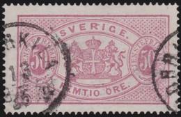 Sweden   .      Yvert   Service  10B   Perf 14     .       O     .         Cancelled   .    /   .   Gebruikt - Dienstzegels