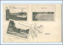 U3121/ Sokal Galizien Ukraine AK 1917 - Ukraine