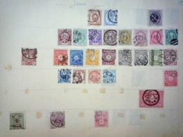 COLLECTION JAPON Feuille Album Maury Ancien - A Voir - 1 Scan - Sammlungen (im Alben)