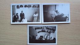 EMILIA ROMAGNA BOLOGNA 3 FOTO 1928 1931 ANFITEATRO DI CHIRURGIA OSPEDALE PROFESSORI NIGRISOLI NIGRI SFAMENI - Altri