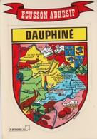 CPSM  38 DAUPHINE ECUSSON ADHESIF - Unclassified
