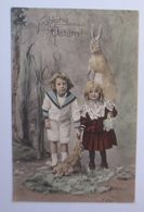 Ostern, Kinder, Mode, Hase, Kohl,   1908 ♥  - Ostern