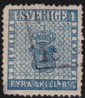 Sweden   .      Yvert   2      .       O     .         Cancelled   .    /   .   Gebruikt - Zweden