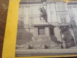 STEREOSKOPIE - ANONYM - VIENNE - WIEN - VIENNA - STATUE DE JOSEPH II - Stereoscoop