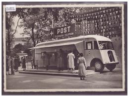 GRÖSSE 10x15cm - ZÜRICH - SCHWEIZ. LANDESAUSSTELLUNG 1939 - No L.A. 41 - AUTOMOBIL POSTBUREAU - TB - ZH Zurich