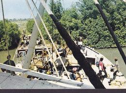 Gambia PPC Gambia-River Copyright Margit Ogebratt, Sweden (2 Scans) - Gambia