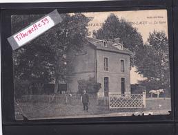 71-BRION-LAIZY- La GARE- Attelage Cheval BLANC-GARDE-BARRIERE- Edit. BAILLY-Ecrite- - Altri Comuni