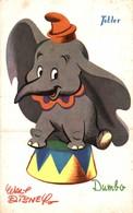 CARTE POSTALE PUBLICITAIRE CHOCOLATS TOBLER  WALT-DISNEY  DUMBO - Disney