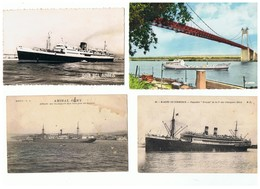 1935-743  7cp  Transport De Passagers   La Vente Sera Retirée  Le 14-09 - Steamers
