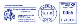 Freistempel 6767 Wasserbeschafftungsverband Pumpenschwengel - BRD