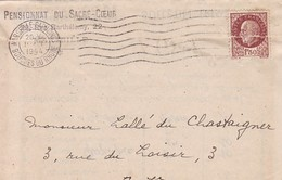 JOLI BULLETIN SCOLAIRE MARSEILLE PENSIONNAT DU SACRE COEUR 1944 - Diplomas Y Calificaciones Escolares