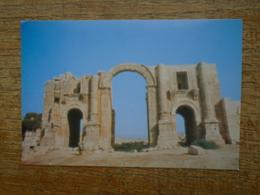 Jordanie , Jerash , Arch Of Hadrian - Jordanie