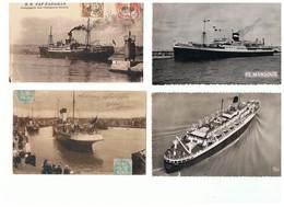 1935-743  7cp  Transport De Passagers   La Vente Sera Retirée  Le 14-09 - Paquebots
