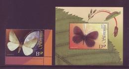 Slovenia 2006 - Farfalle, Erannis Ankeraria E Erebia Calcarea, 1v MNH** + Foglietto Integro - Slovenia