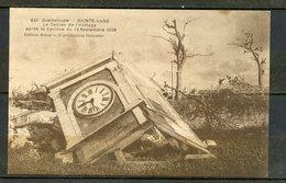 N°348  GUADELOUPE - APRES LE CYCLONE DU 12 SEPTEMBRE 1928 - POINTRE A PITRE, LE CADRAN DE L'HORLOGE. - Pointe A Pitre