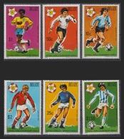 BELIZE 1981 - CAMPEONATO DEL MUNDO DE FUTBOL ESPAÑA-82 - YVERT Nº 566/571** - 1982 – Espagne