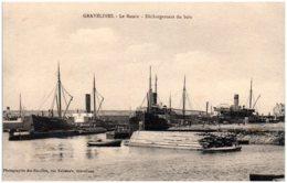 59 GRAVELINES - Le Bassin - Déchargement Du Bois - Gravelines