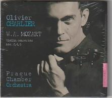 CD  MOZART Olivier Charlier  Violon Concertos   Etat: TTB Port 110 GR - Classique