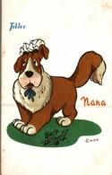 CARTE POSTALE PUBLICITAIRE CHOCOLATS TOBLER  WALT-DISNEY  NANA - Disney