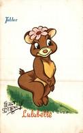 CARTE POSTALE PUBLICITAIRE CHOCOLATS TOBLER  WALT-DISNEY  LULUBELLE - Disney