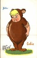CARTE POSTALE PUBLICITAIRE CHOCOLATS TOBLER  WALT-DISNEY  CABIE - Andere