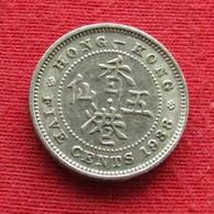 Hong Kong 5 Cents 1938 KM# 22  Hongkong - Hong Kong
