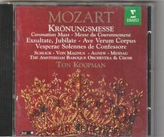 CD  MOZART Kronungmesse  Ton Koopman    Etat: TTB Port 110 GR - Classique