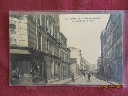 CPA - Paris - Rue Des Artistes Prise De La Rue St-Yves - Arrondissement: 14