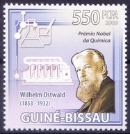 Nobel Chemistry Winner Baltic German Chemist W Ostwald, Guinea Bissau 2009 MNH - Nobelpreisträger